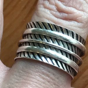 Jewelry - Handmade Sterling Silver Spinning Ring